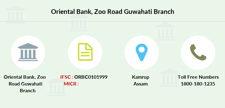 Oriental-bank-of-commerce Zoo-road-guwahati branch