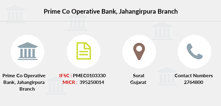 Prime-co-operative-bank Jahangirpura branch