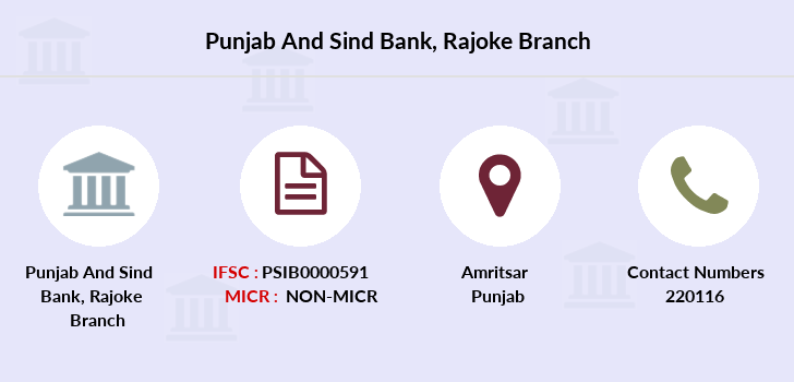 Punjab-and-sind-bank Rajoke branch
