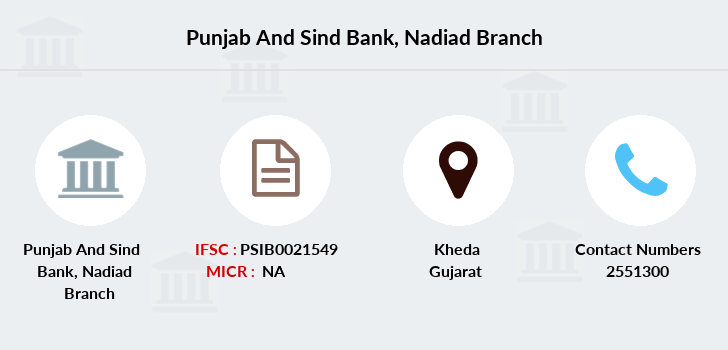 Punjab-and-sind-bank Nadiad branch