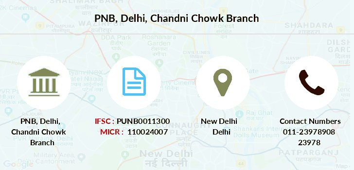 Punjab-national-bank Delhi-chandni-chowk branch