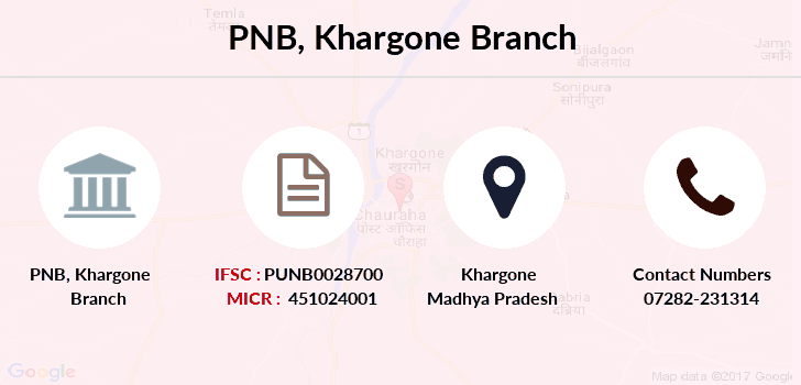 Punjab-national-bank Khargone branch