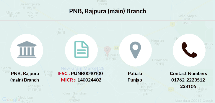 Punjab-national-bank Rajpura-main branch