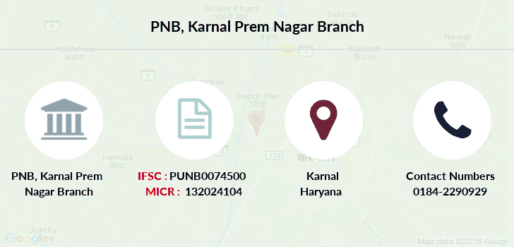 Punjab-national-bank Karnal-prem-nagar branch