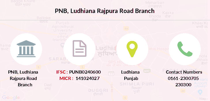 Punjab-national-bank Ludhiana-rajpura-road branch