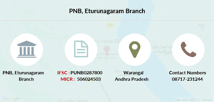 Punjab-national-bank Eturunagaram branch