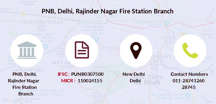 Punjab-national-bank Delhi-rajinder-nagar-fire-station branch