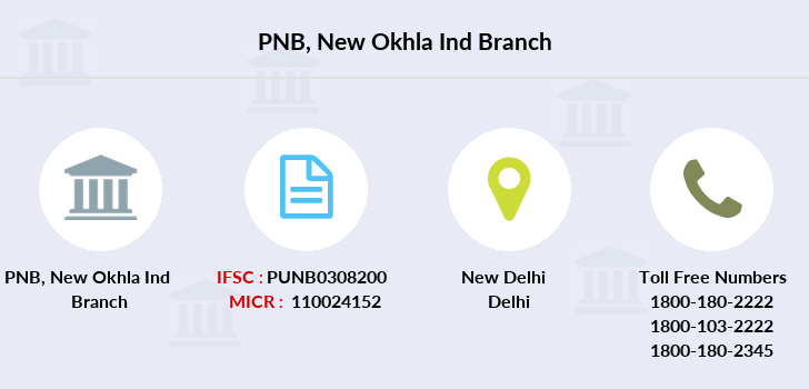 Punjab-national-bank New-okhla-ind branch