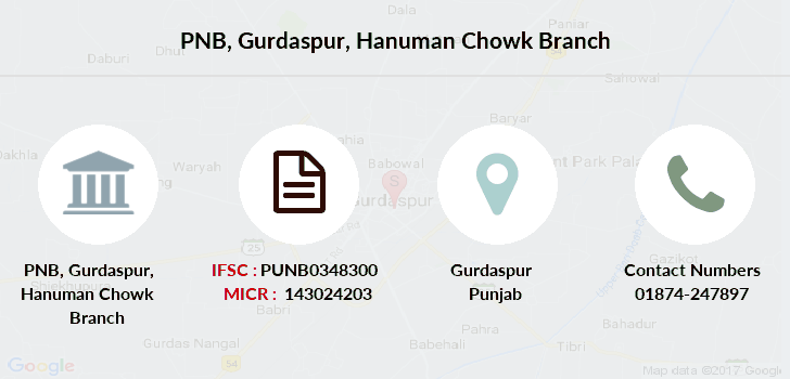 Punjab-national-bank Gurdaspur-hanuman-chowk branch