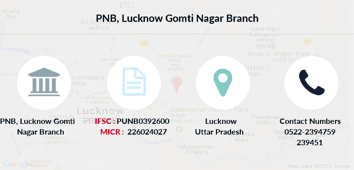 Punjab-national-bank Lucknow-gomti-nagar branch