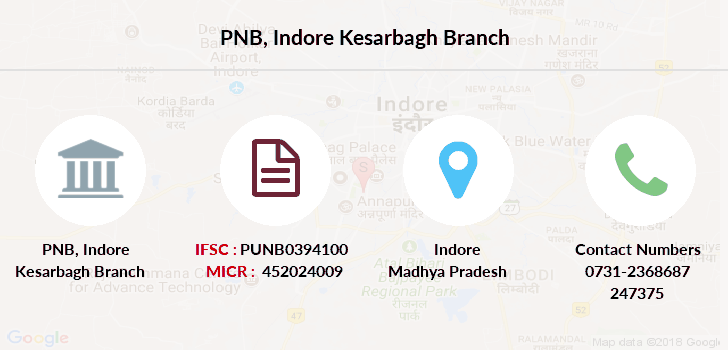 Punjab-national-bank Indore-kesarbagh branch