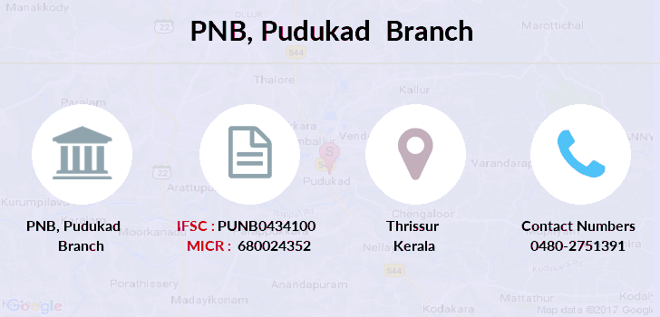 Punjab-national-bank Pudukad branch