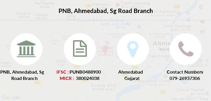 Punjab-national-bank Ahmedabad-sg-road branch