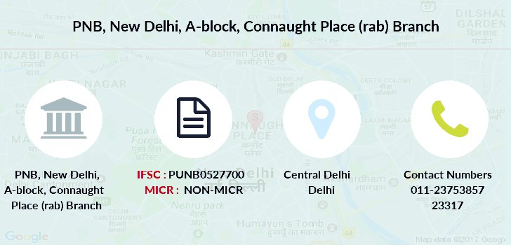 Punjab-national-bank New-delhi-a-block-connaught-place-rab branch