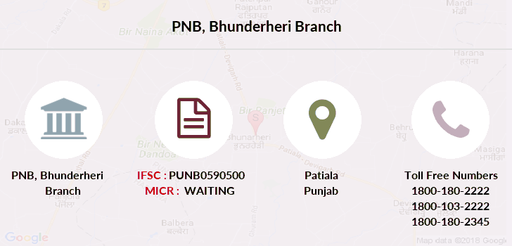Punjab-national-bank Bhunderheri branch