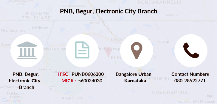 Punjab-national-bank Begur-electronic-city branch