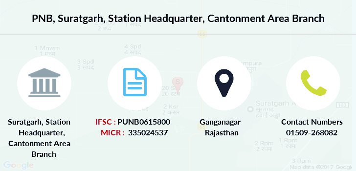 Punjab-national-bank Suratgarh-station-headquarter-cantonment-area branch