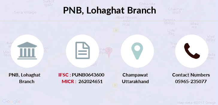Punjab-national-bank Lohaghat branch