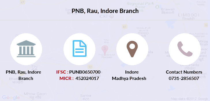 Punjab-national-bank Rau-indore branch