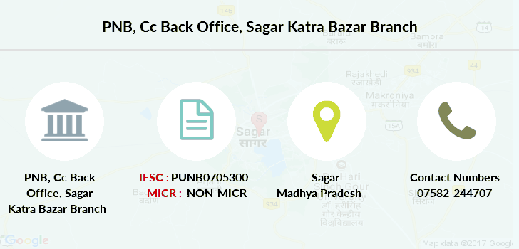 Punjab-national-bank Cc-back-office-sagar-katra-bazar branch