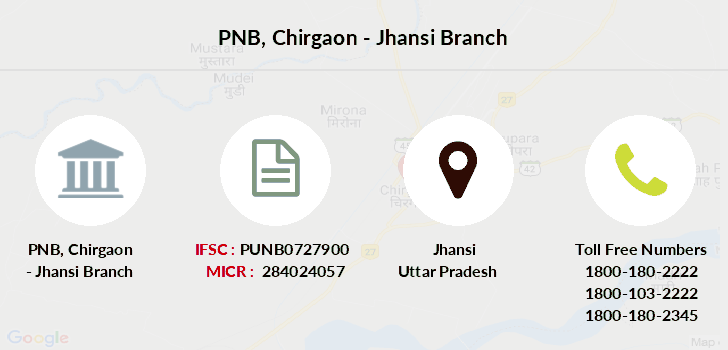 Punjab-national-bank Chirgaon-jhansi branch