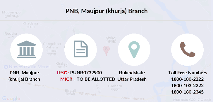 Punjab-national-bank Maujpur-khurja branch
