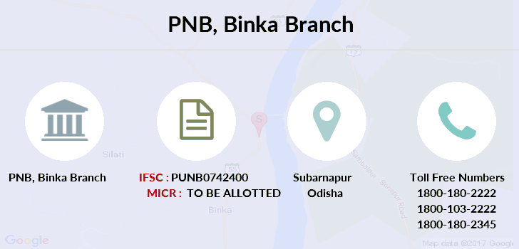 Punjab-national-bank Binka branch