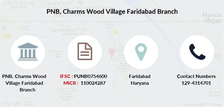 Punjab-national-bank Charms-wood-village-faridabad branch