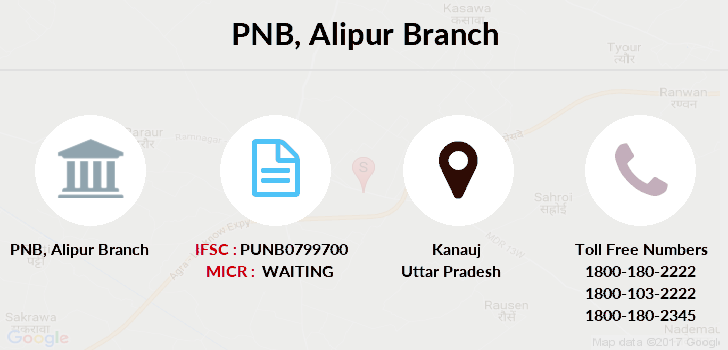 Punjab-national-bank Alipur branch