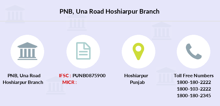 Punjab-national-bank Una-road-hoshiarpur branch