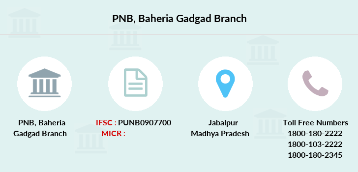 Punjab-national-bank Baheria-gadgad branch