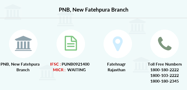 Punjab-national-bank New-fatehpura branch