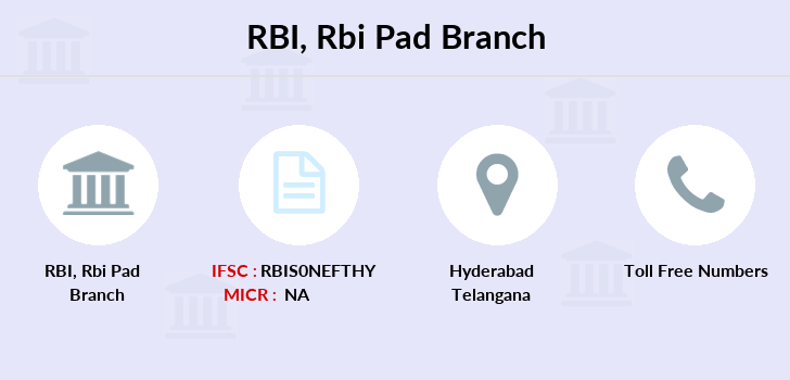 Reserve-bank-of-india Rbi-pad branch