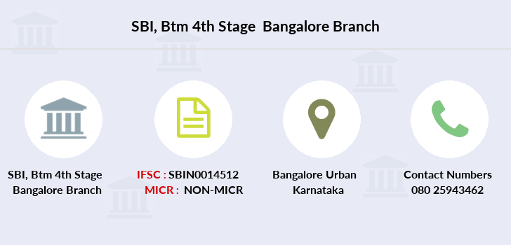 Sbi Btm-4th-stage-bangalore branch