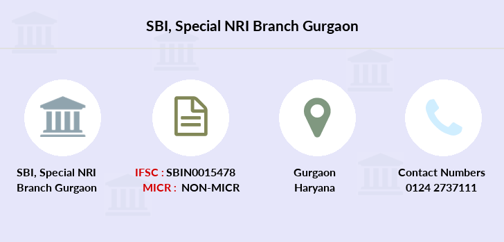 Sbi Special Nri Branch Gurgaon Ifsc Code Sbin0015478