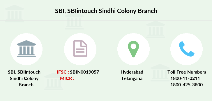 Sbi Sbiintouch-sindhi-colony branch