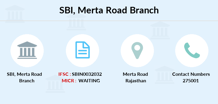 Sbi Merta-road branch