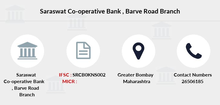 Saraswat-co-op-bank Barve-road branch