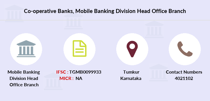 Co-operative-banks Mobile-banking-division-head-office branch