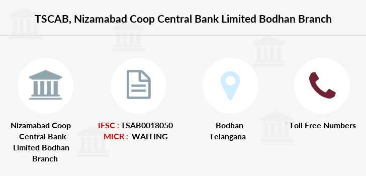 Co-operative-banks Nizamabad-coop-central-bank-limited-bodhan branch