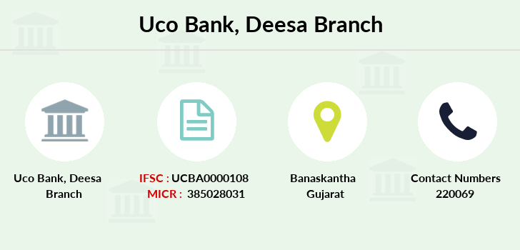 Uco-bank Deesa branch