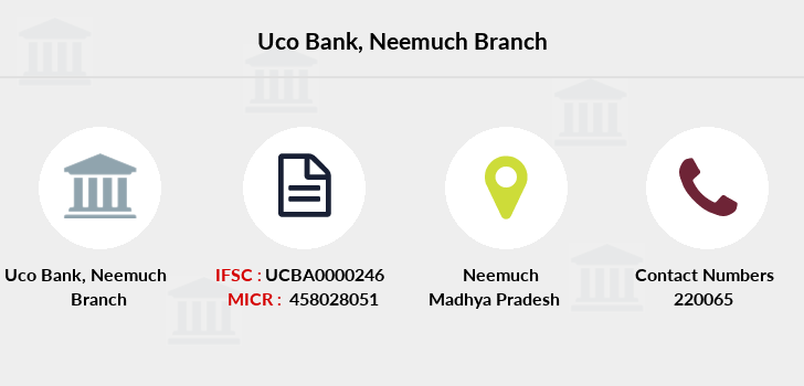 Uco-bank Neemuch branch