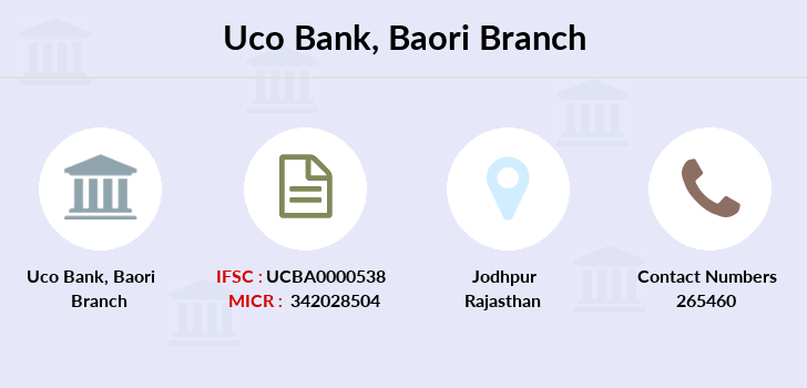 Uco-bank Baori branch