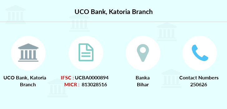Uco-bank Katoria branch