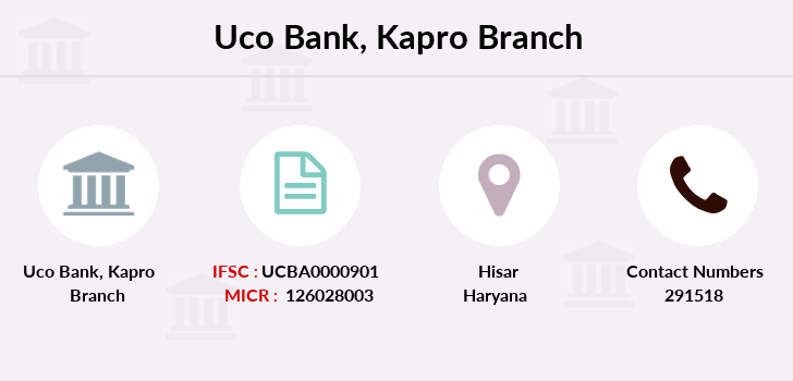 Uco-bank Kapro branch