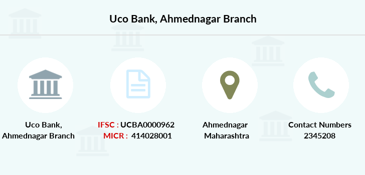 Uco-bank Ahmednagar branch