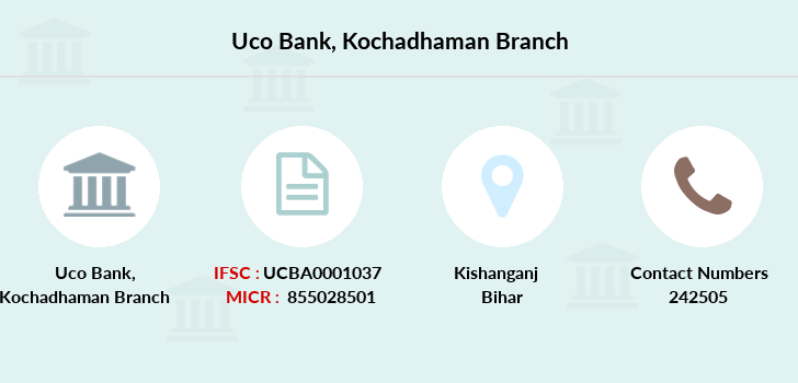 Uco-bank Kochadhaman branch