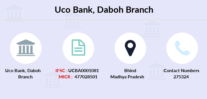 Uco-bank Daboh branch