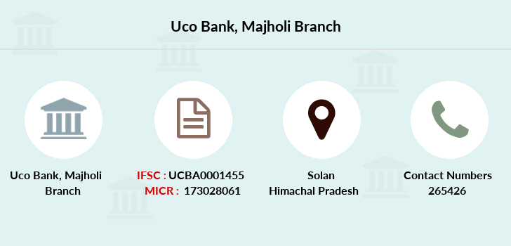 Uco-bank Majholi branch