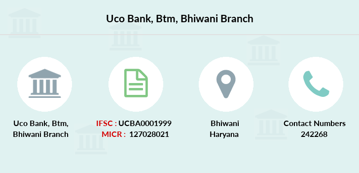 Uco-bank Btm-bhiwani branch